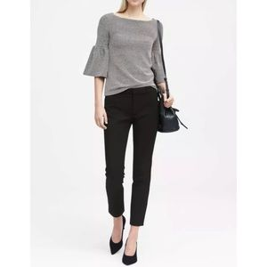 Banana republic Sloan skinny ankle crop pant